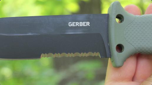11 Gerber - LMF II - Couteau de survie - Marron