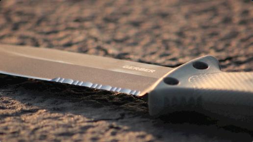 12 Gerber - LMF II - Couteau de survie - Marron