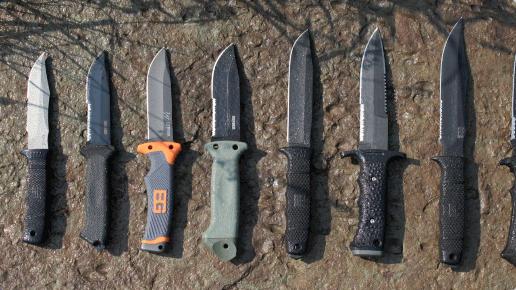 13 Gerber - LMF II - Couteau de survie - Marron