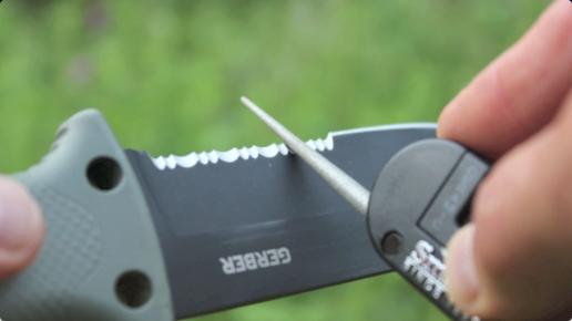 6 Gerber - LMF II - Couteau de survie - Marron
