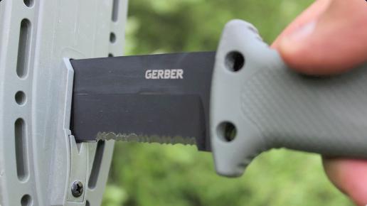 9 Gerber - LMF II - Couteau de survie - Marron