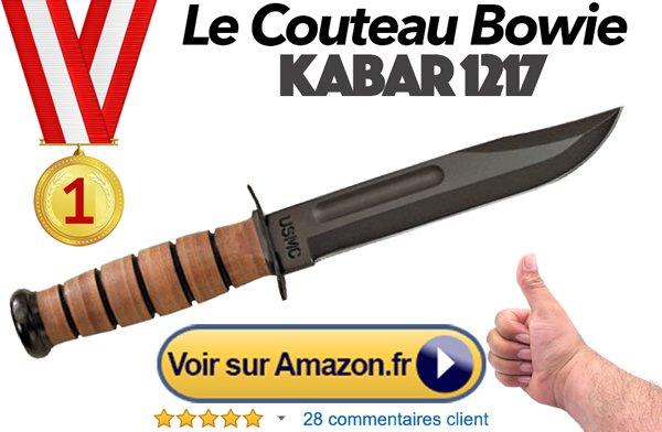 couteau bowie achat