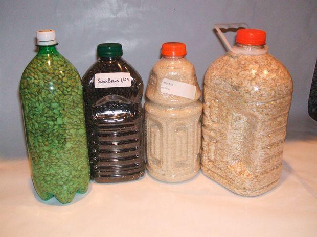 Les conteneurs de stockage alimentaire