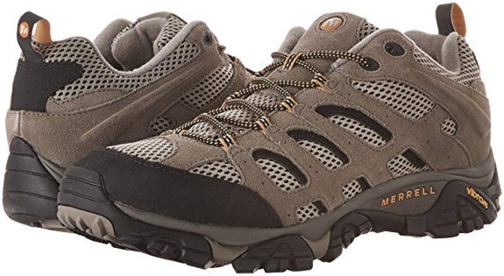 Merrell Moab 2 Ventilator Hommes Chaussures De Marche Marron Extérieur Chaussures De Randonnée