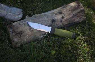 Test et avis sur le couteau Mora 2000 Outdoor.