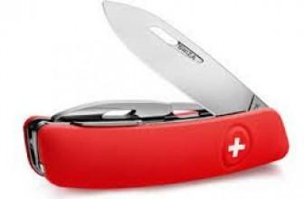 La lame d'un couteau suisse